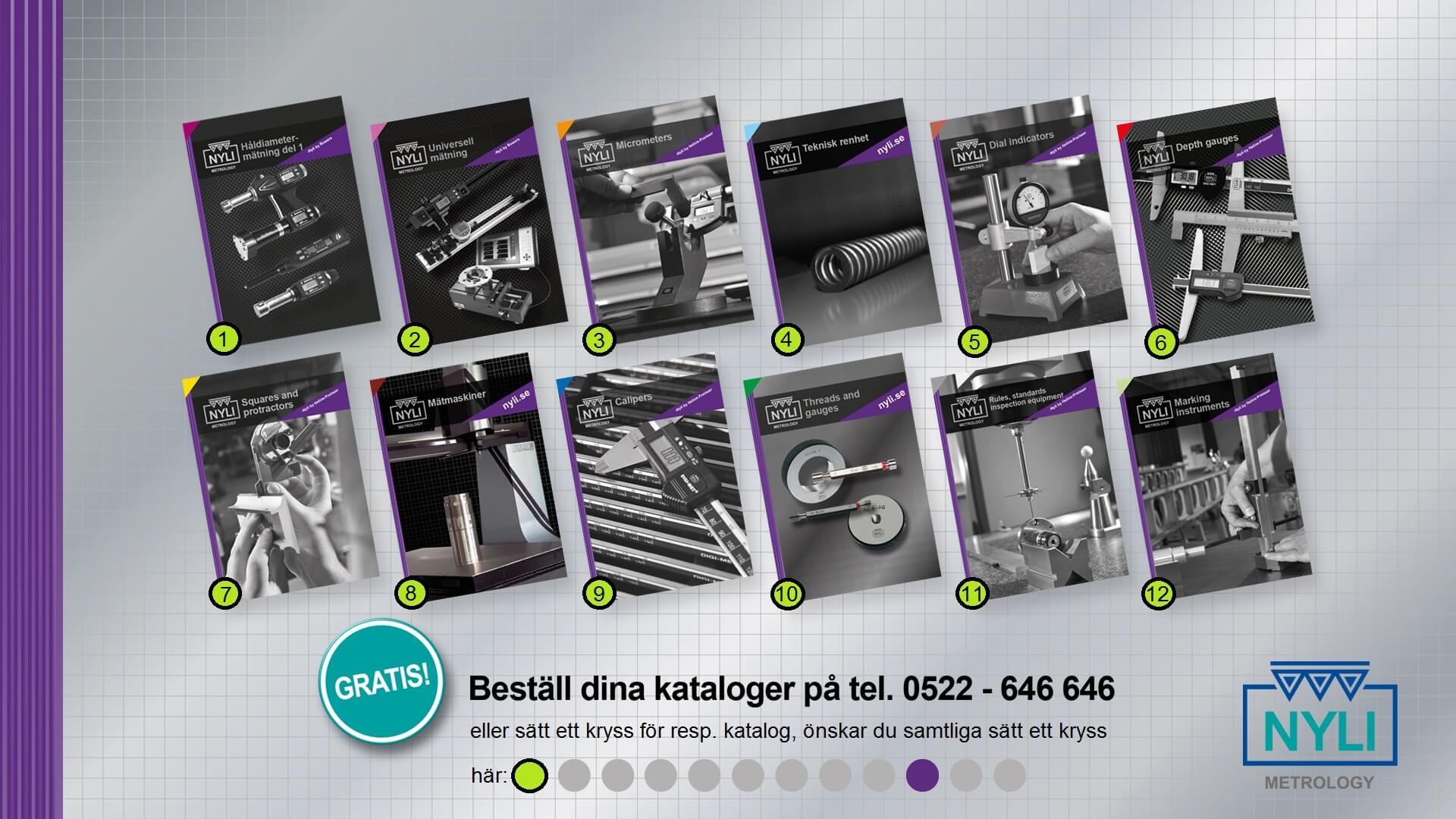 NYLI kataloger